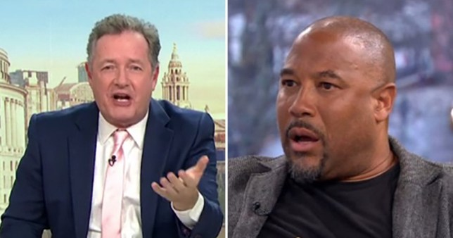 Piers Morgan on GMB and John Barnes on This Morning