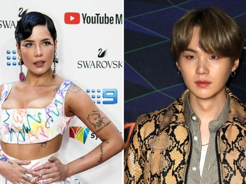 Halsey says she was 'blown away' by BTS's Suga's lyrics in his solo songs ahead of their collaboration