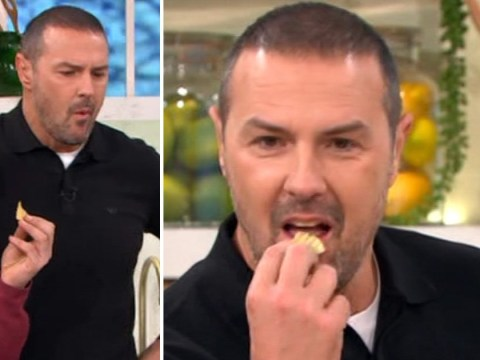 Paddy McGuinness gate-crashes This Morning straight from Top Gear party: 'I haven't been to bed'