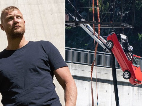 Freddie Flintoff left dangling 500 feet in the air for 45 minutes Top Gear's most dangerous stunt yet: 'This could be life-threatening'