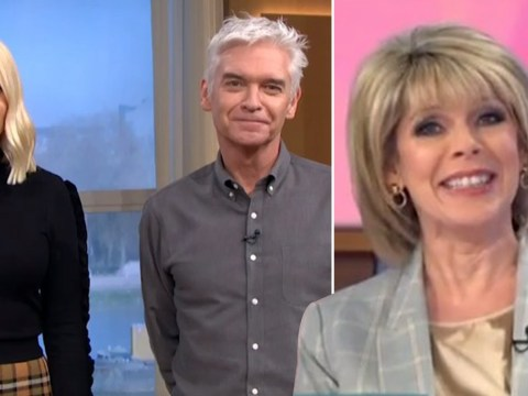Ruth Langsford and Phillip Schofield go face to face for the first time amid feud claims