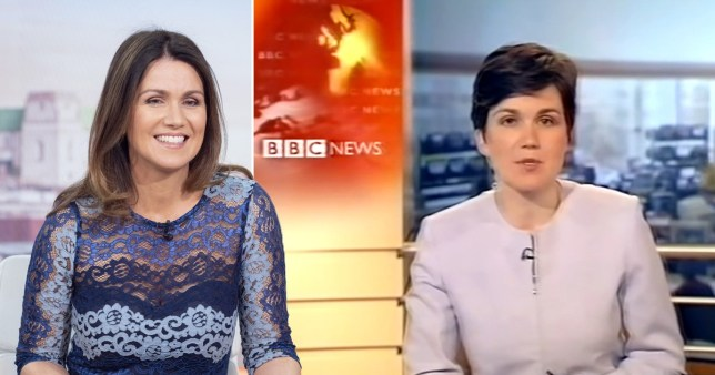 Susanna Reid and a throwback