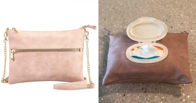 alicia's nappy bag hack