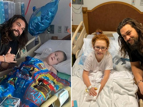 Game Of Thrones' Jason Momoa is an actual legend as he surprises children in hospital