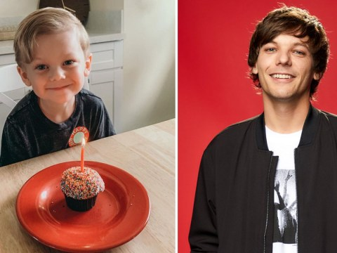 Louis Tomlinson's son Freddie is just the cutest double of his dad as he celebrates his fourth birthday
