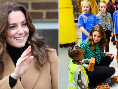 Kate goes on whirlwind 24-tour of UK to start childhood survey