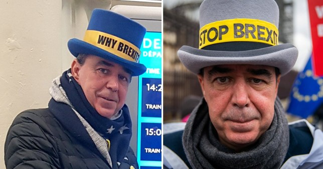 Instead of saying 'Stop Brexit', he's now asking people 'Why Brexit?'