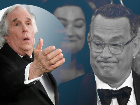 Happy Days star Henry Winkler denies he's been feuding with Tom Hanks for the past 30 years straight