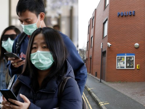 Two UK police stations on lockdown after Chinese person they arrested started sneezing