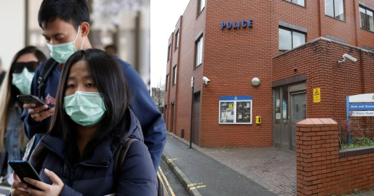 Police station on lockdown after Chinese person they arrested started sneezing