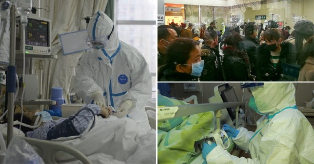 Inside Wuhan Hospital, China