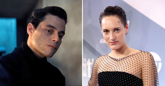 Rami Malek says Phoebe Waller-Bridge completely transformed his Bond villain: 'She's got a knack for drama and tension'
