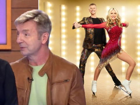 Torvill and Dean remain tight-lipped about Caprice's mysterious Dancing On Ice partner swap