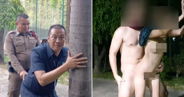 Thai police decided to jog people's memoey as they stepped up their hunt for a randy couple
