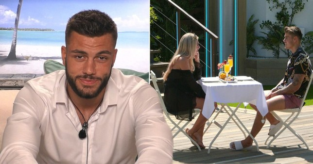Love Island Finley and Paige