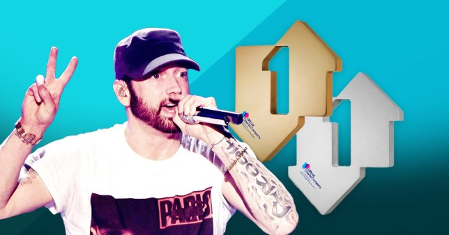Eminem lands double number one on UK charts despite controversial terror attack lyrics