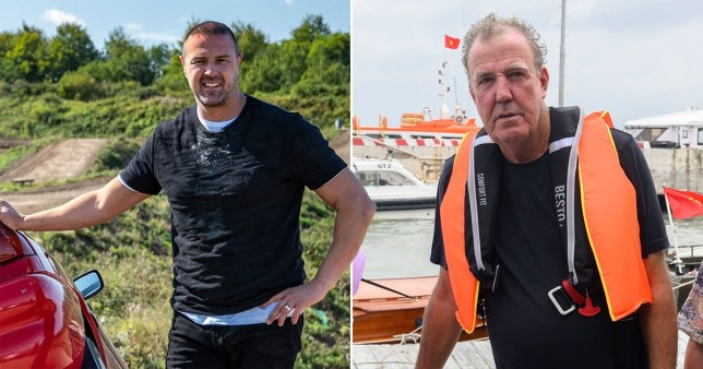 Paddy McGuinness and Jeremy Clarkson