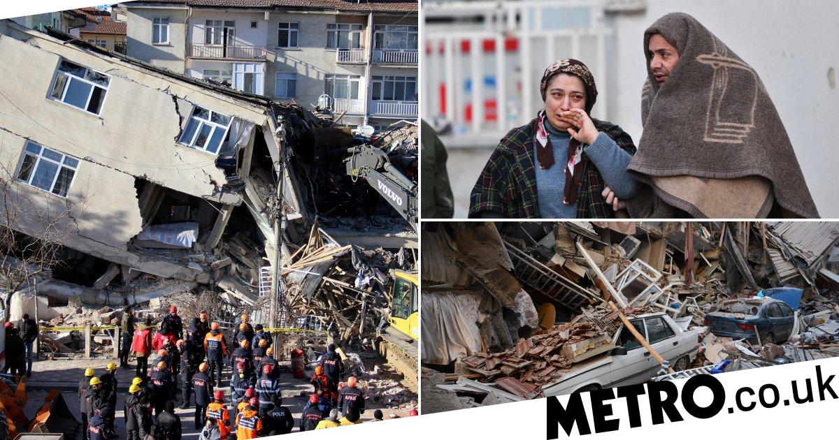 Desperate hunt for survivors as death toll from Turkey earthquake rises to 22