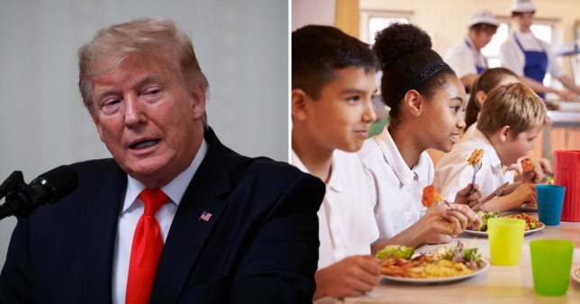 Pasta to count as vegetable after Donald Trump's USDA rule changes