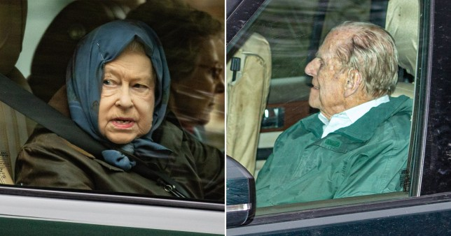 Queen and Prince Philip out for first time since Harry left for Canada