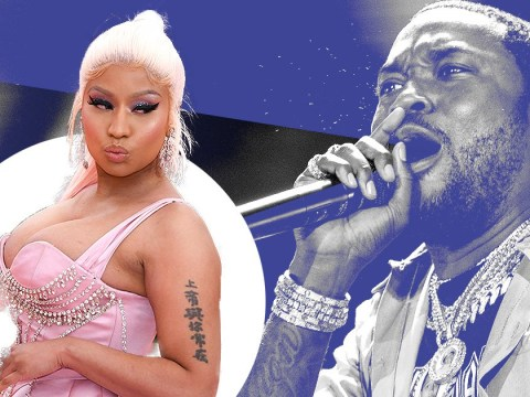 Nicki Minaj and husband Kenneth Petty have 'blazing row' with Meek Mill in LA clothing store, as you do