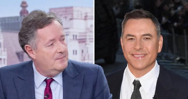 Piers Morgan says David Walliams 'makes his skin crawl' as he plans to boycott National Television Awards