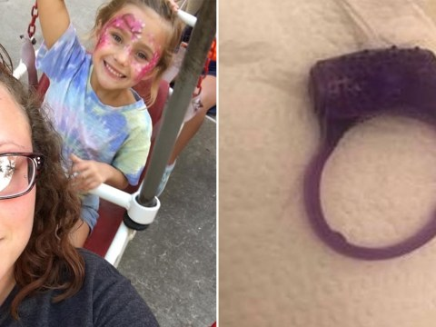 Mum's embarrassment after five-year-old daughter thinks sex toy is a bracelet and she gives it to a friend