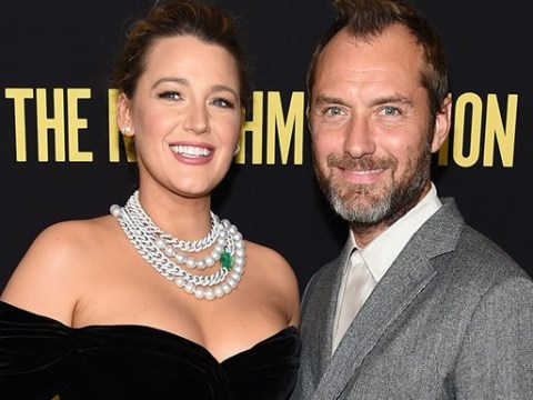 Blake Lively steals the show at The Rhythm Section premiere with Jude Law as she rocks classic look
