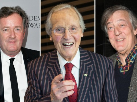 Piers Morgan and Stephen Fry lead celebrity tributes to Nicholas Parsons as Just A Minute presenter dies aged 96