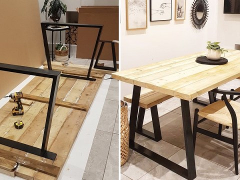 Woman recreates £2k Insta-worthy dining table for absolutely nothing