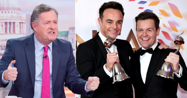 Piers Ant and Dec