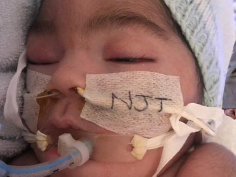 Judge rules baby 'brain dead' instructing life-support to be turned off