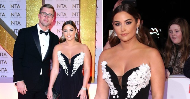 Jacqueline Jossa and Dan Osborne are prom king and queen at the NTAs