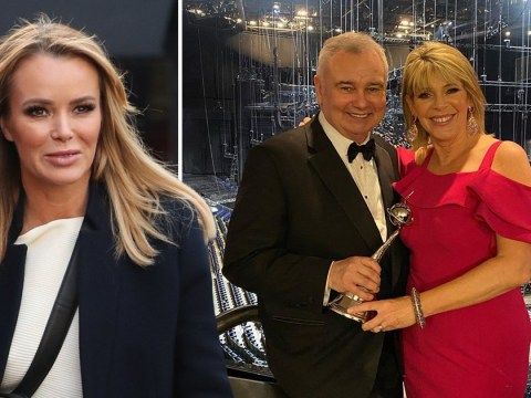 Amanda Holden names Ruth Langsford and Eamonn Holmes her This Morning 'faves' after Phillip Schofield feud