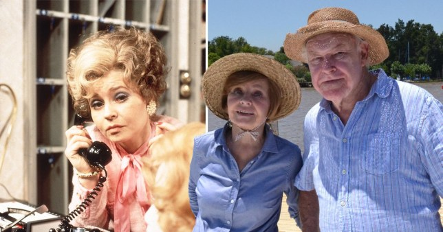 Prunella Scales and husband Timothy West
