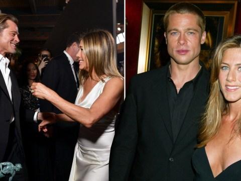 Jennifer Aniston and Brad Pitt's relationship history so far