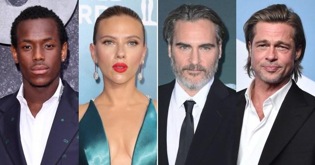 BAFTAs: Michael Ward, Scarlett Johansson, Joaquin Phoenix, Brad Pitt
