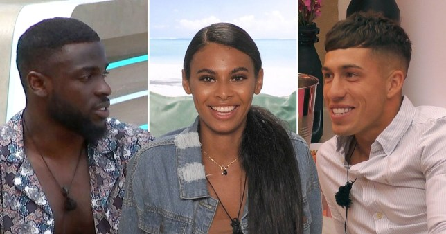 Mike, Sophie and Connor Love Island