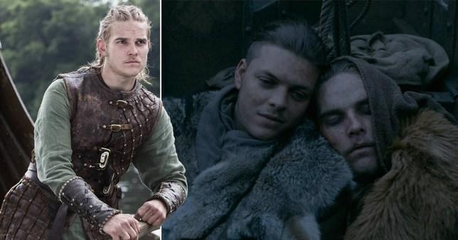 Vikings Hvitserk and Ivar
