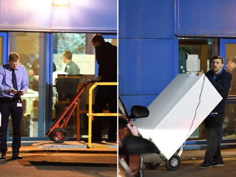 Fridges and TVs moved into flats where Brits will be quarantined for coronavirus
