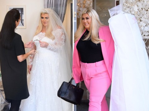 Gemma Collins goes wedding dress shopping and buys dreamy gown as she celebrates 39th birthday