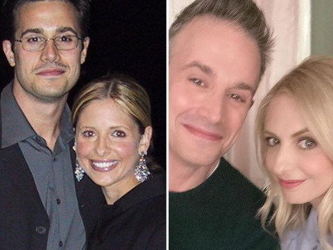 Sarah Michelle Gellar celebrates 20th anniversary with Freddie Prinze Jr with adorable throwback snap