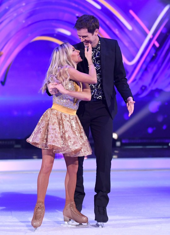 Kevin and Brianne on Dancing On Ice