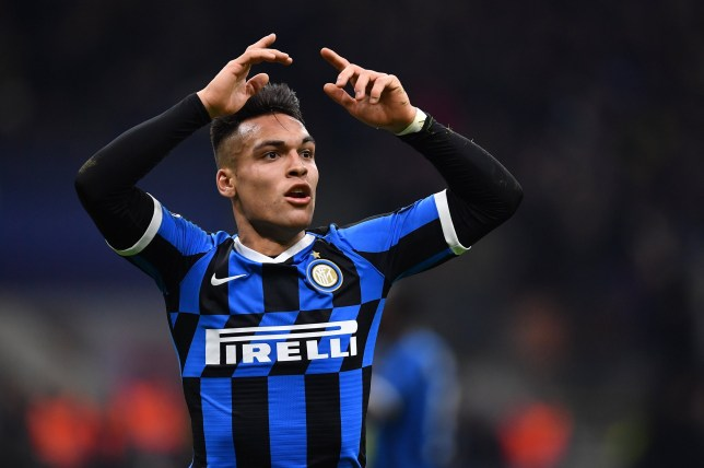 Inter striker Lautaro Martinez is wanted by Manchester United
