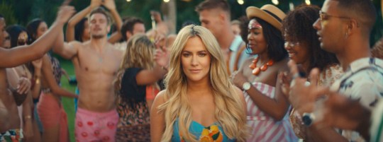 Caroline Flack - The new Love Island promo. 'Love Island' TV Show, Series 6, Promo, South Africa - Dec 2019 Editorial Use Only. No Merchandising. No Commercial Use. Mandatory Credit: Photo by ITV/REX (10493215g)