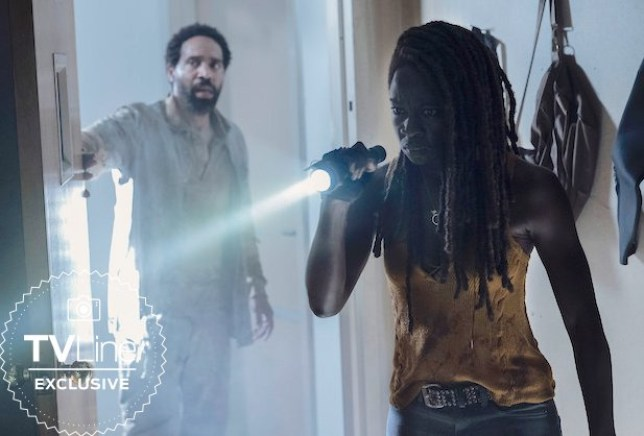 The Walking Dead reveal first look at Michonne's return in season 10B