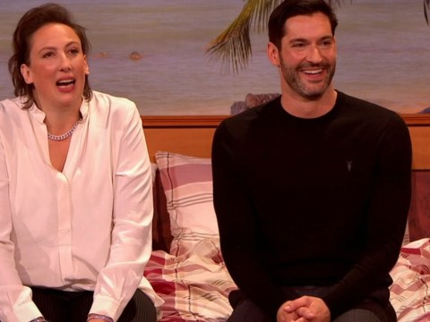 Lucifer's Tom Ellis makes surprise appearance in Miranda Special – and fans can't stop crying