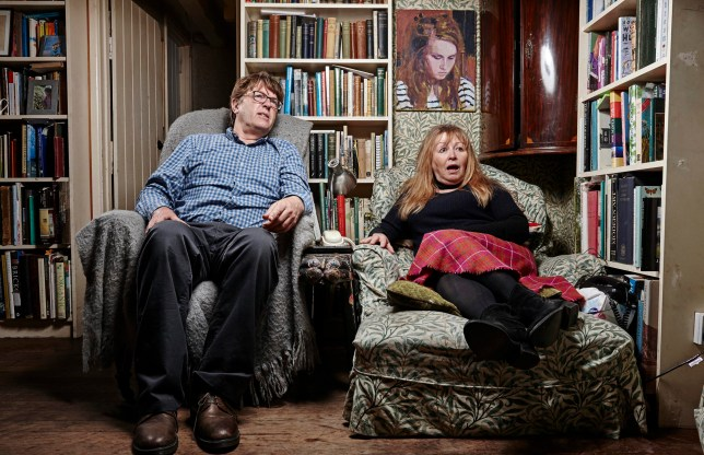 Gogglebox's Giles and Mary