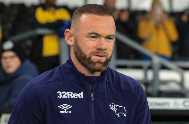 Wayne Rooney is Derby County's new captain