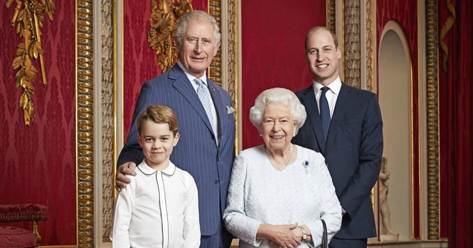 New royal portrait